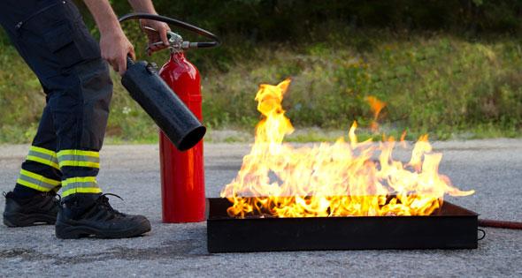 Prévenir et former au risque incendie