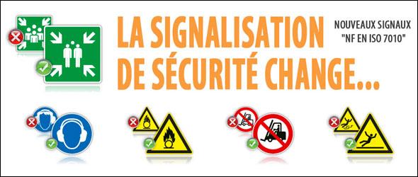 Signalétique sécurité travail