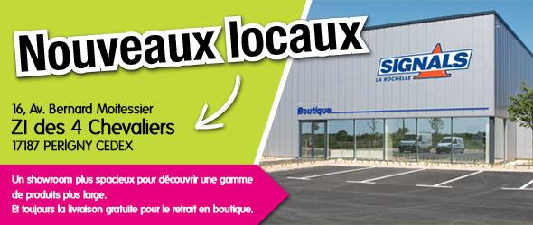 La nouvelle boutique Signals à Perigny