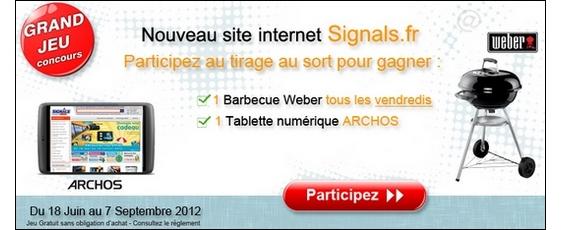 Participez au tirage au sort pour fêter le nouveau site signals.fr