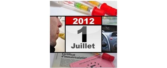 Ethylotest obligatoire pour les automobilistes