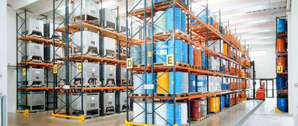 10 mesures de prévention pour le stockage des produits chimiques