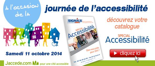 Journée de l'accessibilité 2014