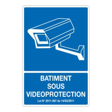 Batiment sous vidéo protection