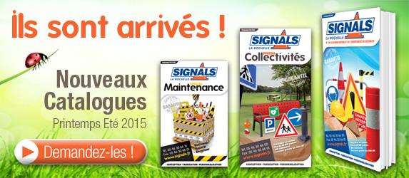 Nouveaux catalogues Signals Printemps été 2015