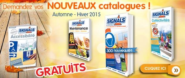 Nouveaux catalogues signals AH 2015