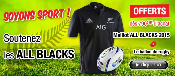 Soyons sport ! Soutenons les All Blacks !