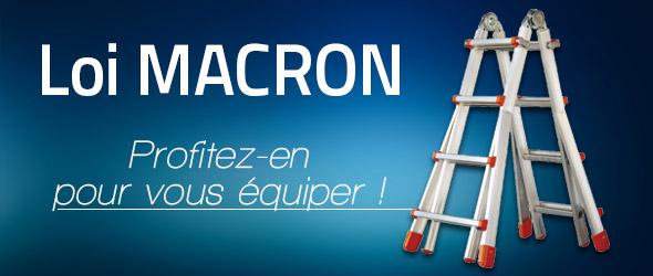 Loi Macron : profitez d'un amortissement supplémentaire