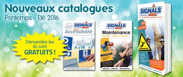 Nouveaux catalogues signals printemps été 2016