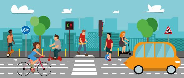 Les nouveaux modes de transport urbain. Quelle réglementation ?