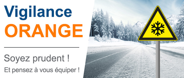 Vague de froid :  14 départements en vigilance orange