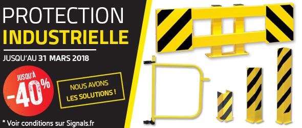Protection industrielle : nous avons les solutions !