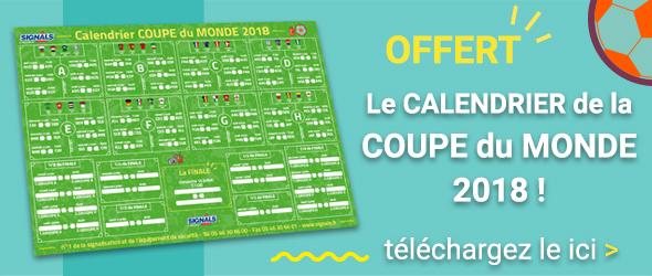 Coupe du monde 2018 : le calendrier complet à imprimer