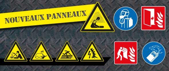 Nouveaux pictogrammes norme NF EN ISO 7010