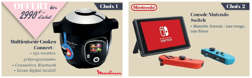 Multicuiseur ou console Nintendo Switch