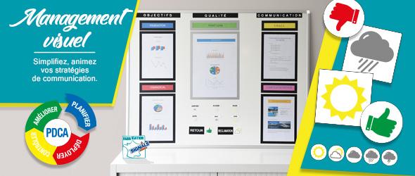 Management visuel : nos solutions pour vos tableaux d'affichage
