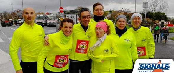 3ème année de participation au marathon de La Rochelle