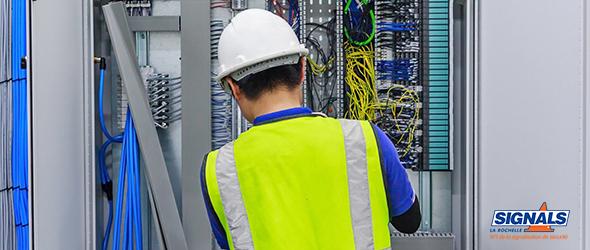 Sécurité au travail : le risque électrique