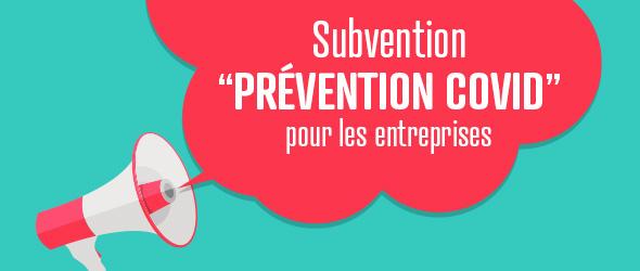 Une subvention pour aider les TPE et PME à prévenir le COVID-19