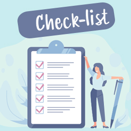 Check-list retour au travail sur site