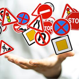 Signalisation routière et code de la route