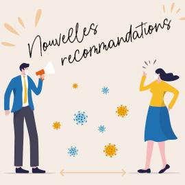 COVID-19 : Nouvelles recommandations du Haut conseil de la santé publique