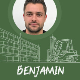 L'interview de Benjamin : Team leader entrepôt