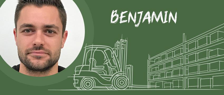 Benjamin, emballeur / empaqueteur chez Signals